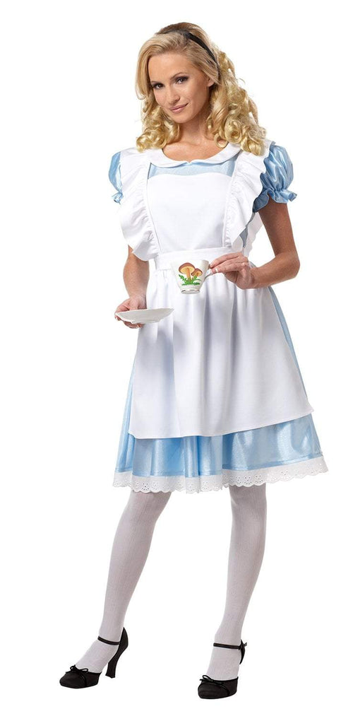 California Costumes Costumes WHITE/BLUE / LARGE Adult Alice Costume