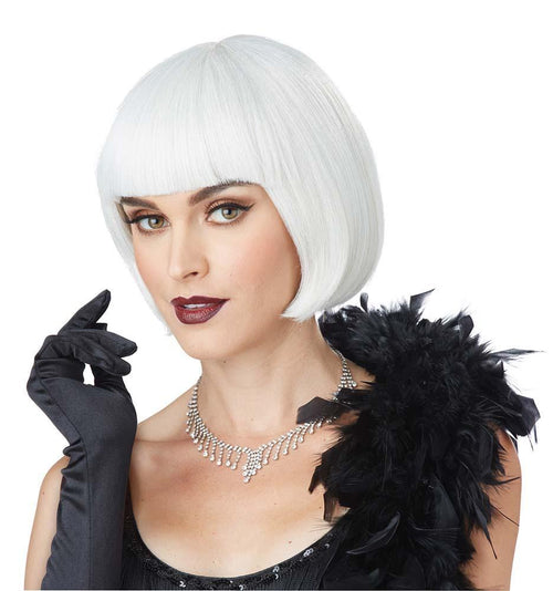California Costumes Wigs Ash Blonde/White Flapper Wig - Roaring 20s