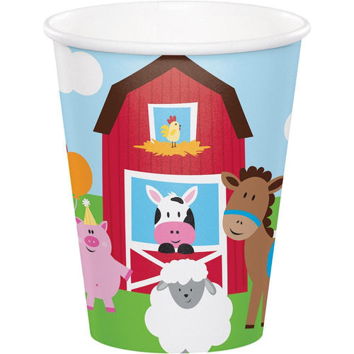 Creative Converting Birthday Farmhouse Fun 9oz Cups 8ct
