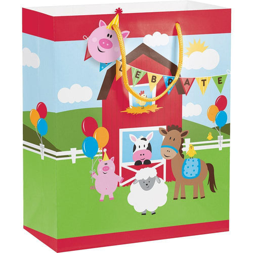 Creative Converting Birthday Farmhouse Fun Gift Bag