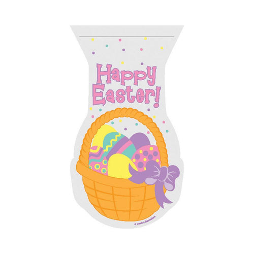 Creative Converting Easter Easter Basket Cello Bags