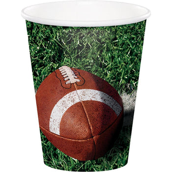 Creative Converting football Football Tailgate 9oz Cups 8ct
