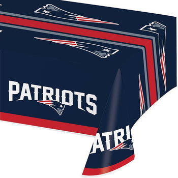 Creative Converting football New England Patriots Table Cover