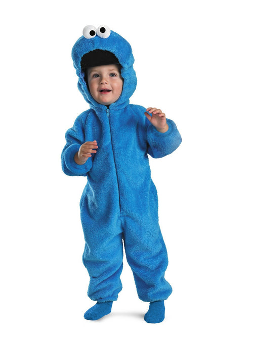 Disguise Costumes 12-18 MTHS Toddler Boys Cookie Monster Deluxe Costume - Sesame Street