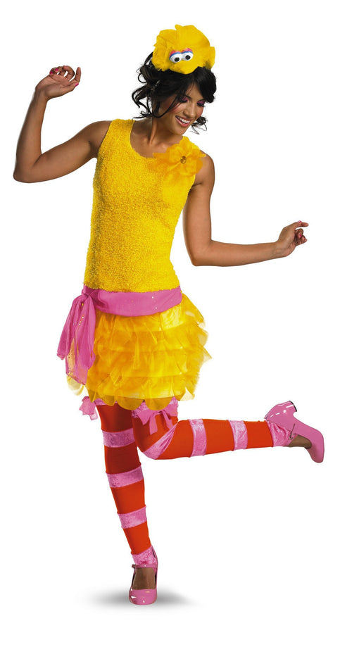 Disguise Costumes Adult Big Bird Sassy Costume - Sesame Street