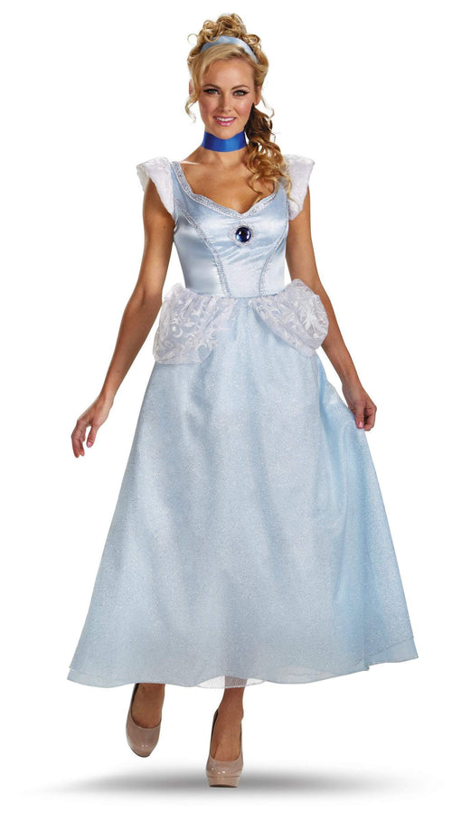 Disguise Costumes Adult Cinderella Deluxe Costume