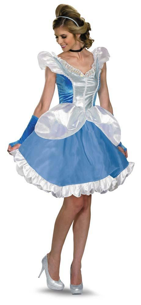 Disguise Costumes Adult Cinderella Fab Deluxe Costume