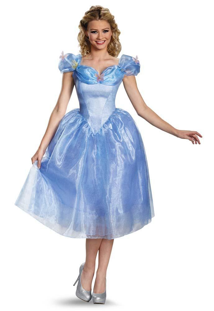Disguise Costumes Adult Cinderella Movie Deluxe Costume
