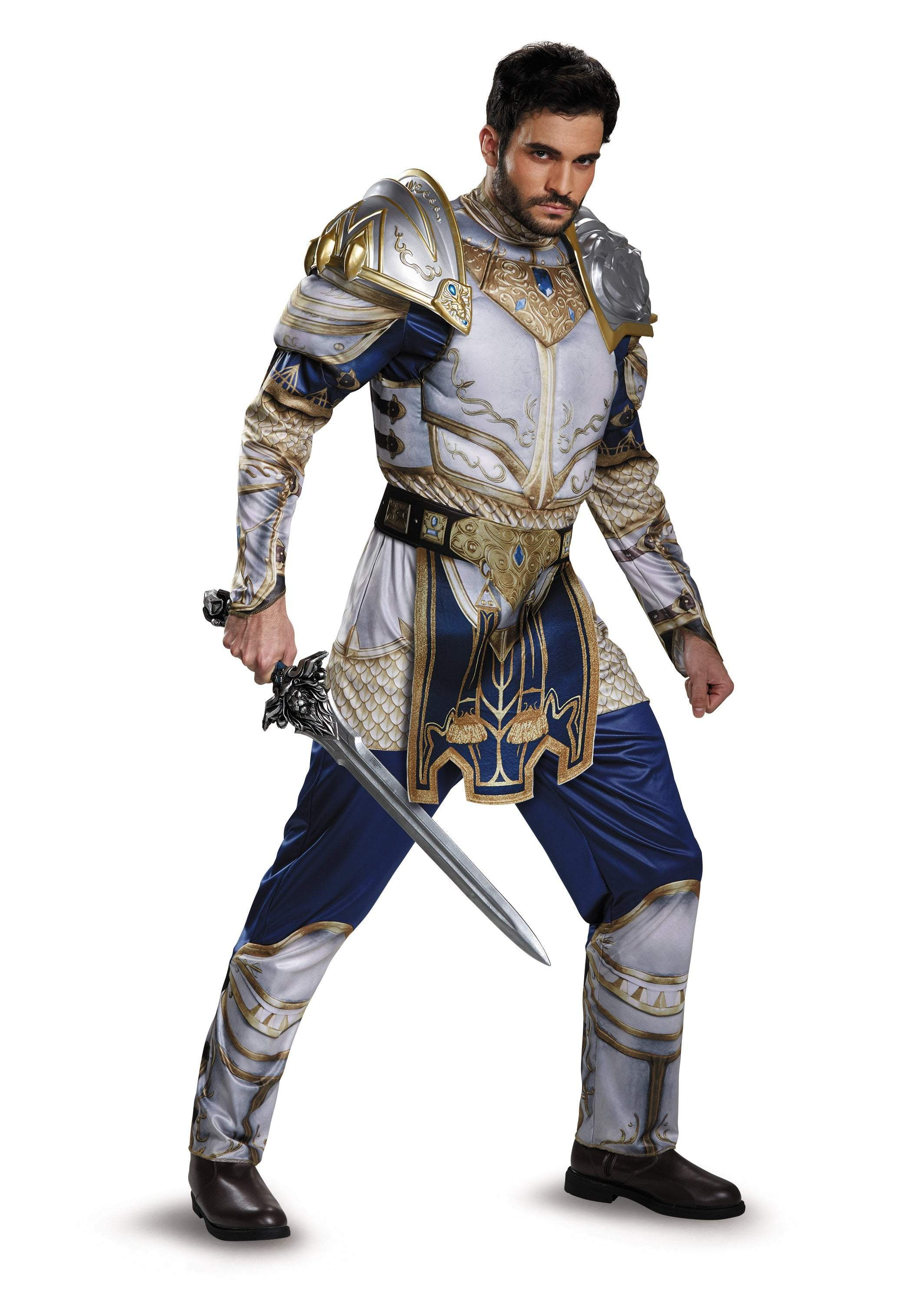 Disguise Costumes Adult King Llane Classic Muscle Costume - Warcraft