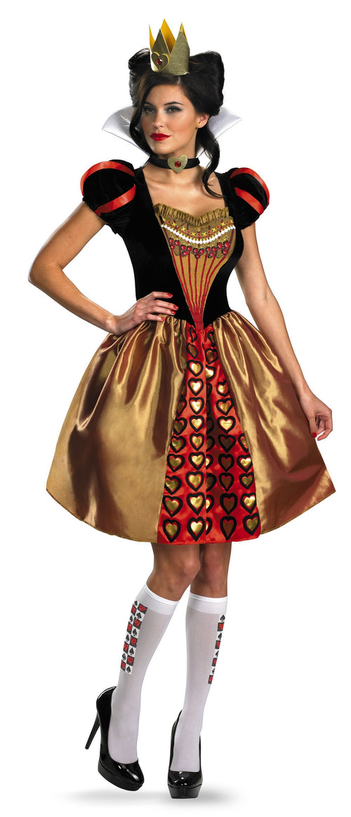 Disguise Costumes Adult Sassy Red Queen Costume - Alice in Wonderland
