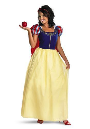 Disguise Costumes Adult Snow White Deluxe Costume