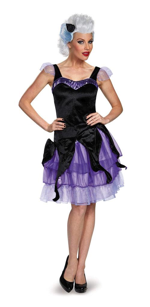Disguise Costumes Adult Ursula Deluxe Costume - Little Mermaid