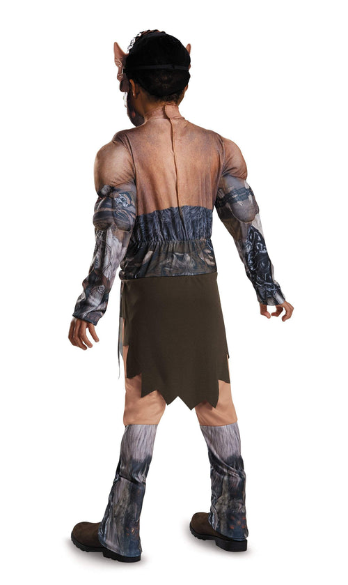 Disguise Costumes Boys Durotan Classic Muscle Costume - Warcraft