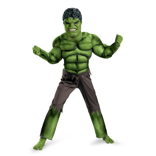Disguise Costumes Boys Hulk Muscle Costume