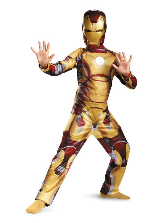 Disguise Costumes Boys Iron Man Mark 42 Classic Costume