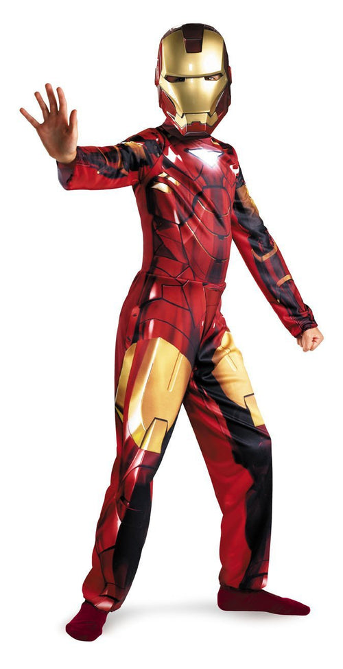 Disguise Costumes Boys Iron Man Mark 6 Classic Costume