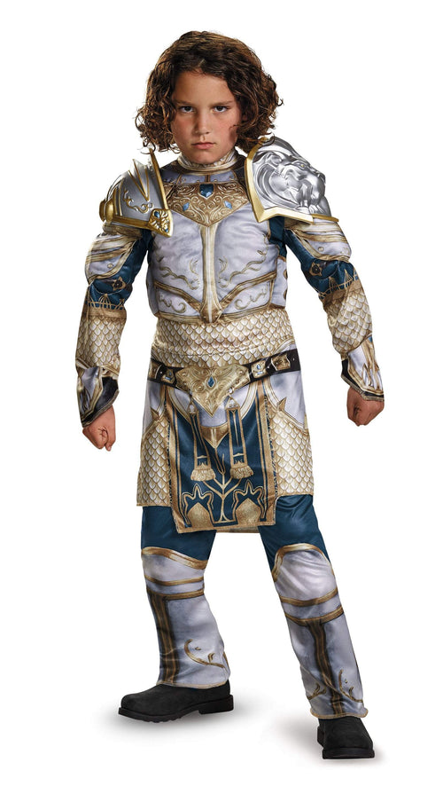 Disguise Costumes Boys King Llane Classic Muscle Costume - Warcraft