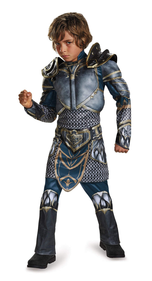 Disguise Costumes Boys Lothar Classic Muscle Costume - Warcraft