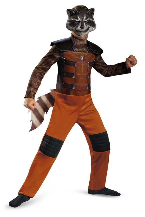 Disguise Costumes Boys Rocket Raccoon Classic Costume - Guardians of the Galaxy
