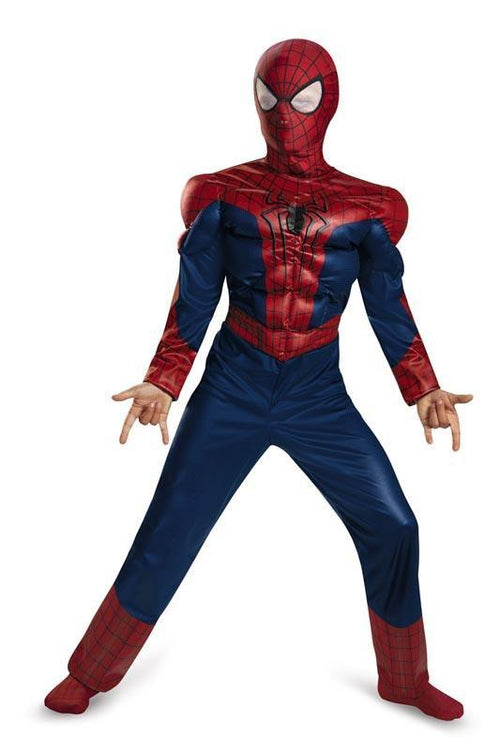 Disguise Costumes Boys Spider-Man Movie 2 Classic Muscle Costume