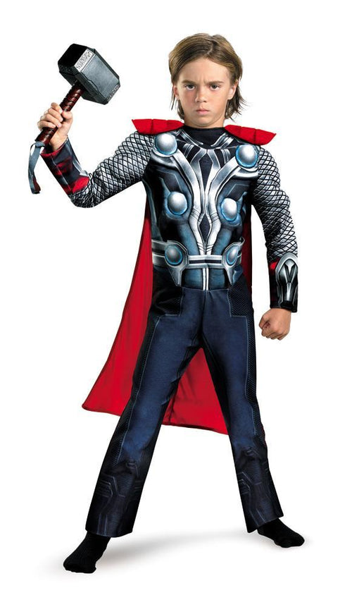 Disguise Costumes Boys Thor Classic Muscle Costume - The Avengers