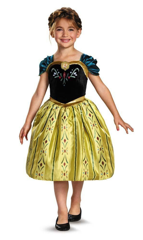 Disguise Costumes Girl Anna Coronation Gown Classic Costume - Frozen