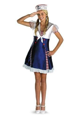 Disguise Costumes Girls Ahoy Matey Costume