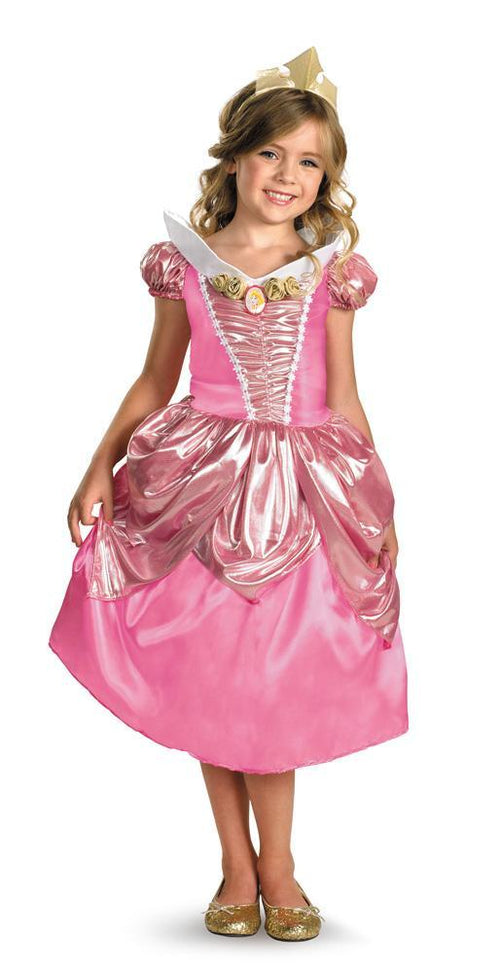 Disguise Costumes Girls Aurora Shimmer Deluxe Costume