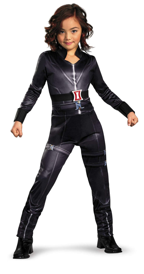 Disguise Costumes Girls Black Widow Classic Costume