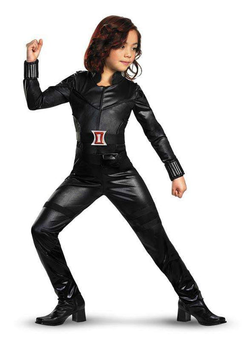Disguise Costumes Girls Black Widow Deluxe Costume - Avengers
