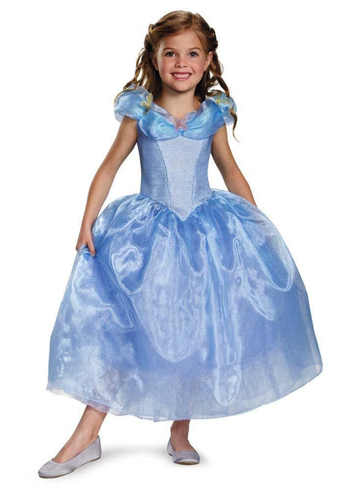 Disguise Costumes Girls Cinderella Movie Deluxe Costume