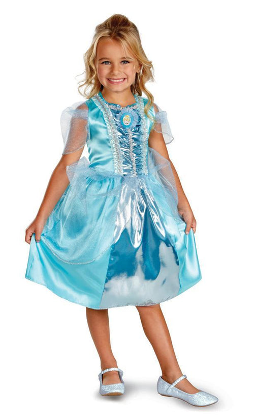 Disguise Costumes Girls Cinderella Sparkle Classic Costume