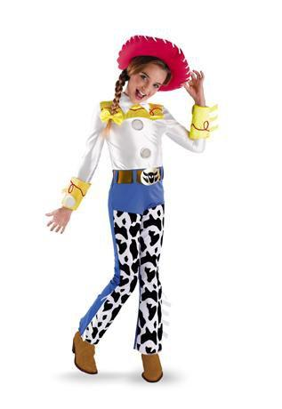 Disguise Costumes Girls Deluxe Jessie Costume - Toy Story