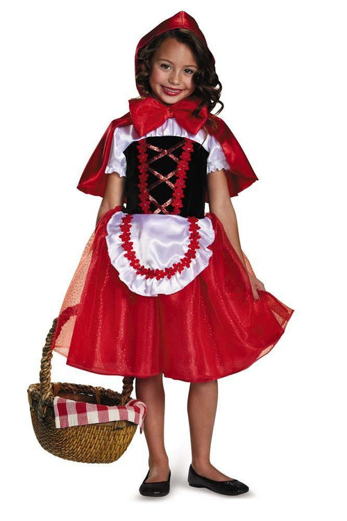 Disguise Costumes Girls Little Red Riding Hood Costume