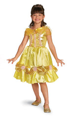 Disguise Costumes Girls Princess Belle Sparkle Classic Costume - Beauty & the Beast