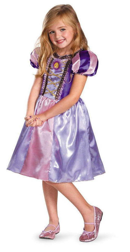 Disguise Costumes Girls Rapunzel Sparkle Classic Costume