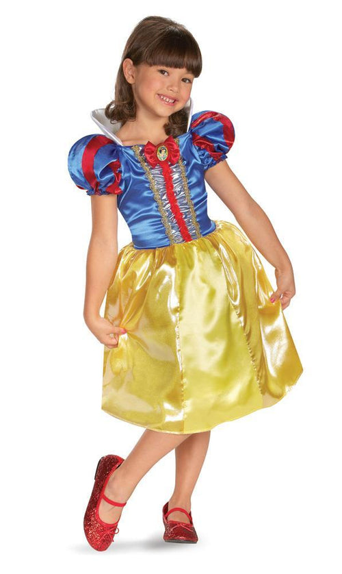 Disguise Costumes Girls Snow White Sparkle Classic Costume