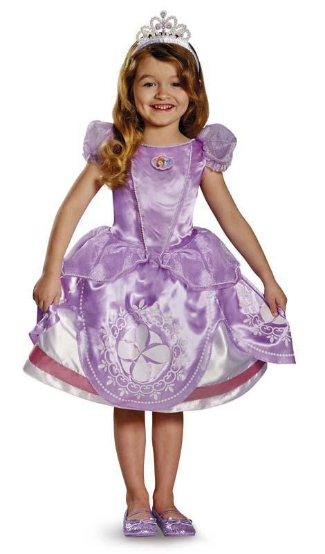 Disguise Costumes Girls Sofia Deluxe Costume