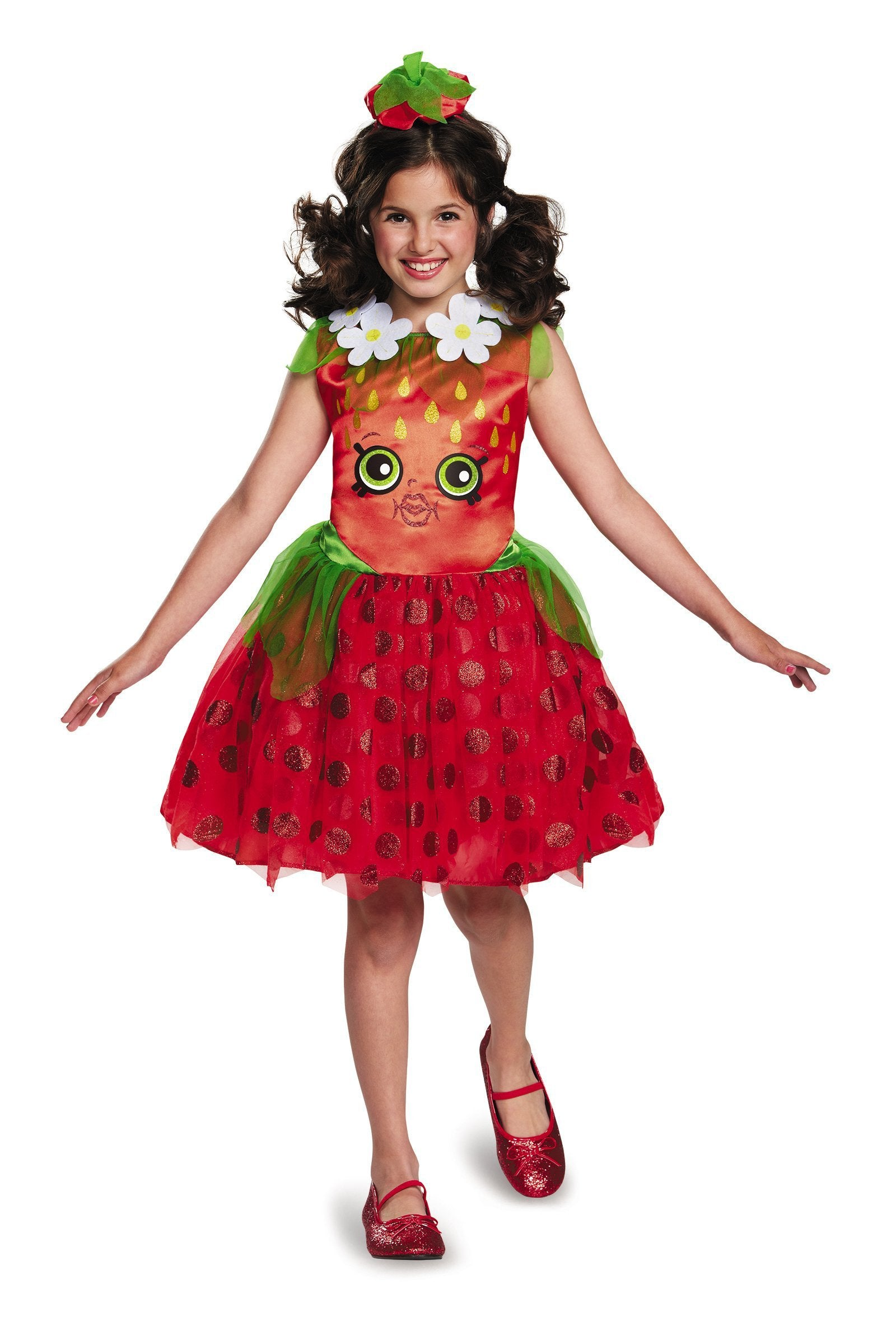 Disguise Costumes Girls Strawberry Kiss Costume - Shopkins