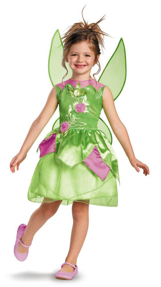 Disguise Costumes Girls Tinker Bell Classic Costume