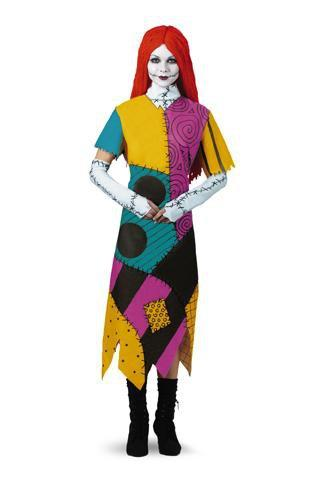 Disguise Costumes JR 7-9 Adult Sally Classic Costume - Nightmare Before Christmas
