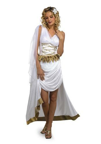 Disguise Costumes JR 7-9 Adult Venus Goddess Of  Beauty Costume