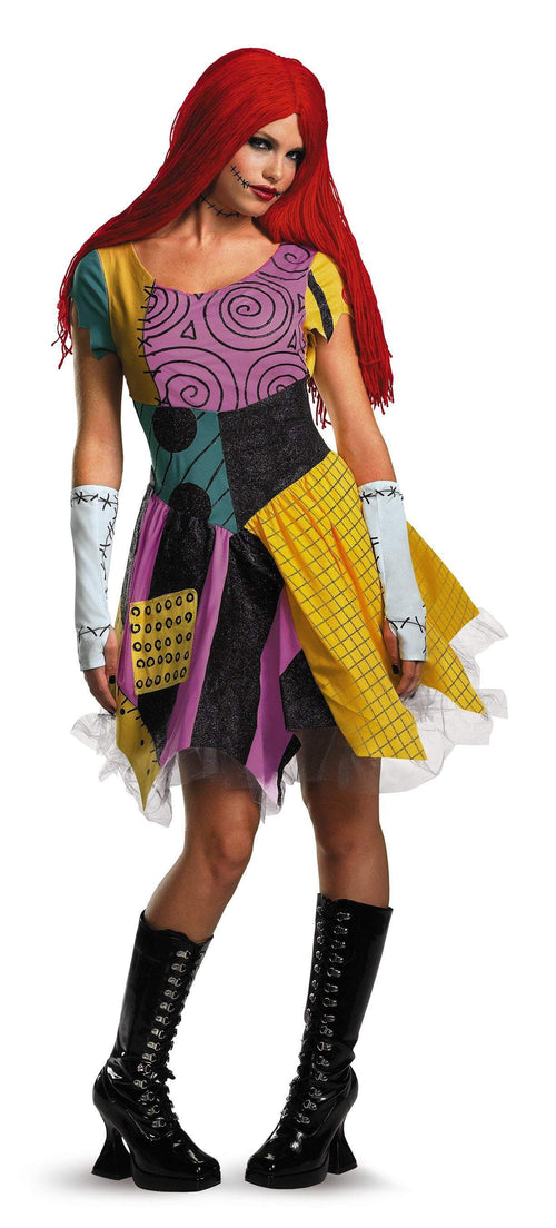 Disguise Costumes L 12-14 Adult Sassy Sally Deluxe Costume - Nightmare Before Christmas