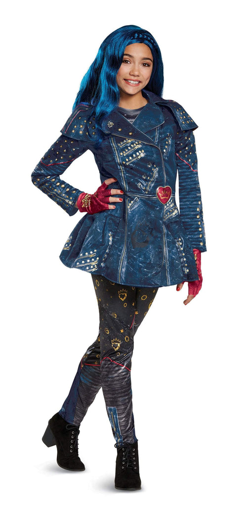Disguise Costumes LARGE (10-12) Evie Deluxe Costume