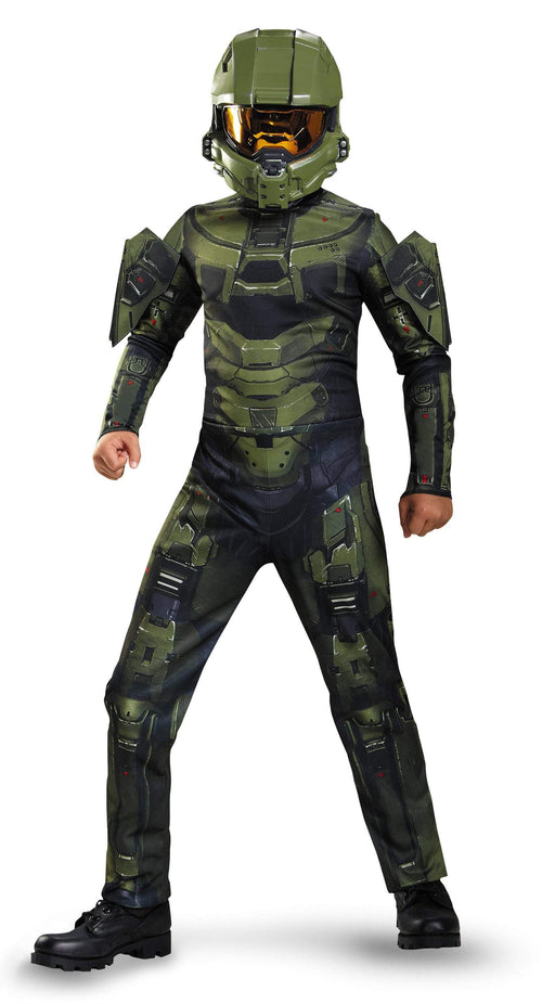 Disguise Costumes LARGE (10-12) Halo Master Chief Classic Costume - Halo