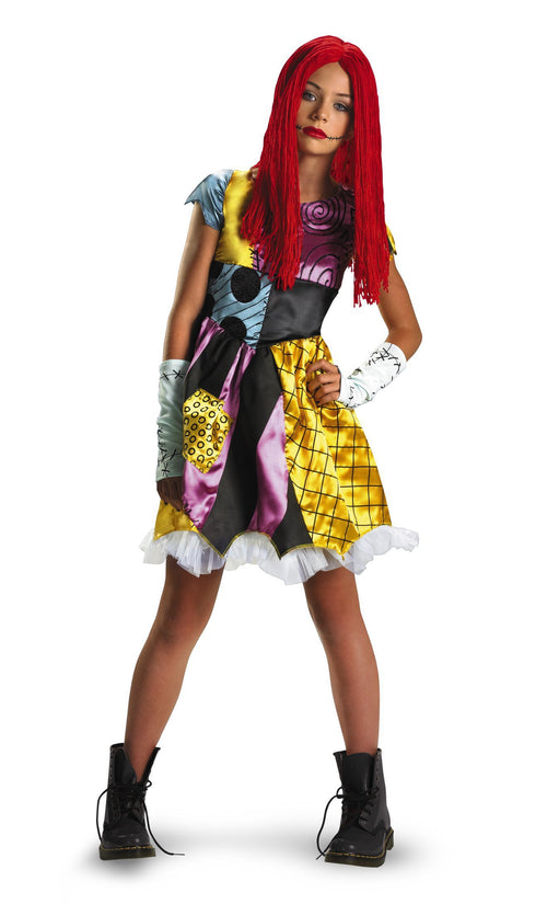 Disguise Costumes LARGE (10-12) Teen Girls Sally Costume - Nightmare Before Christmas