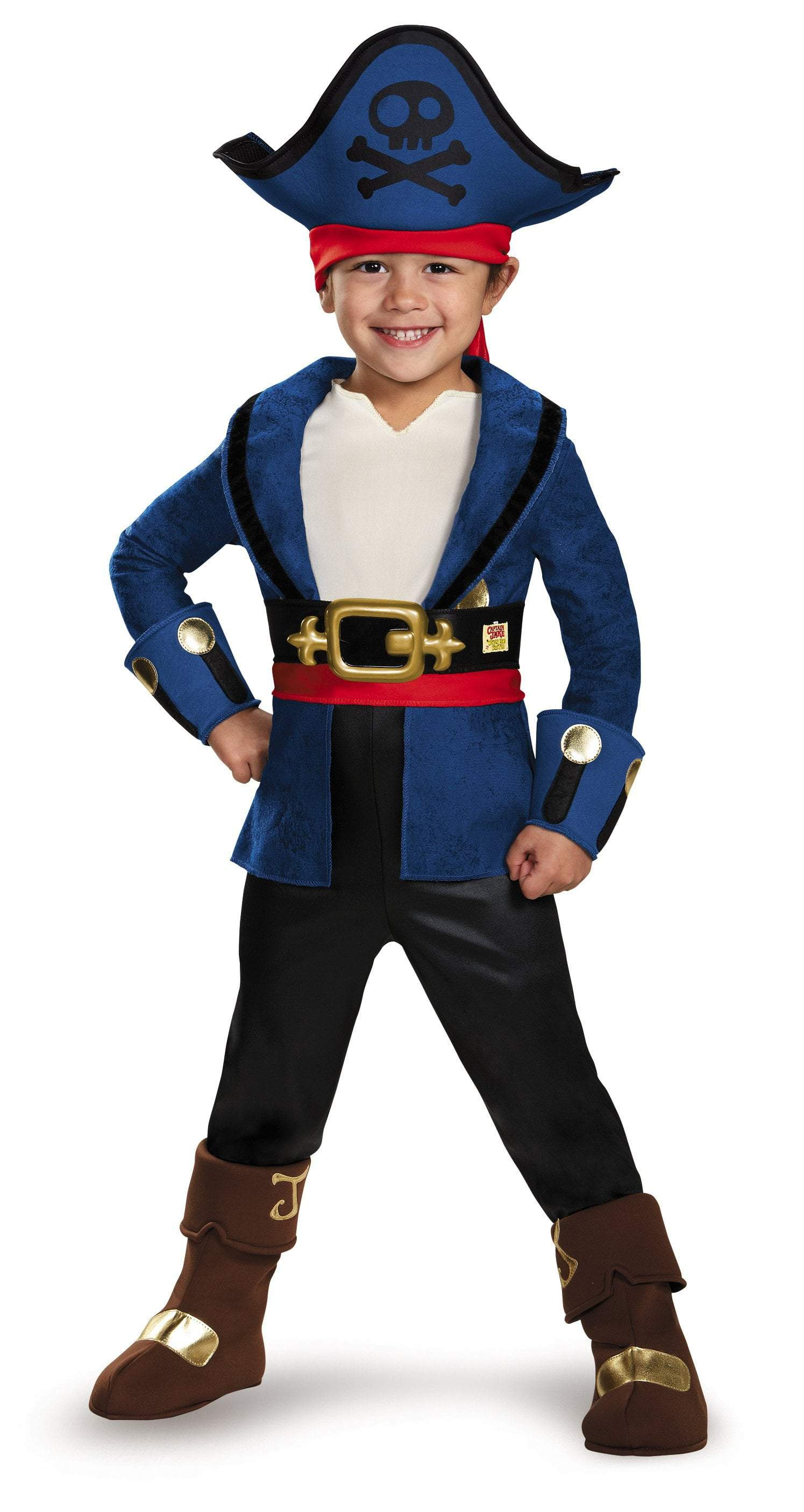 93952a22d3f9 Boys Captain Jake Deluxe Costume - Jake   the Neverland Pirates