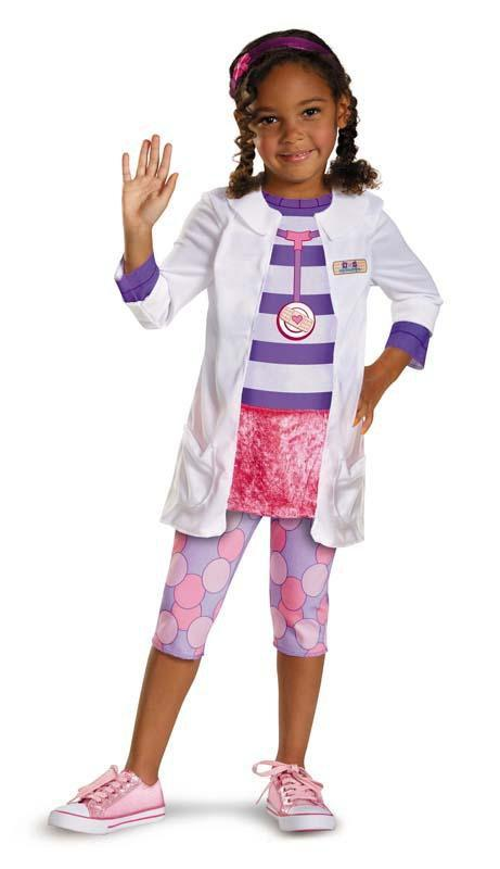 Disguise Costumes LARGE (4-6X) Girls Doc McStuffins Classic Costume