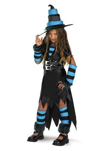 Disguise Costumes M 7-8 Girls Wayward Witch Costume