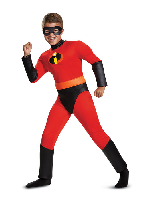 Disguise Costumes MEDIUM (7-8) Boys Dash Classic Costume - The Incredibles 2